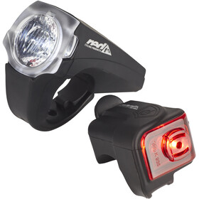 Red Cycling Products PRO 25 Lux Urban LED Valaistussarja, black